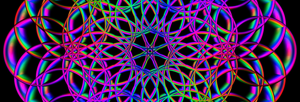 Pillar of Light Electromagnetic Chakra Balancing Flower of Life Field