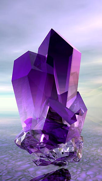 Crystal of Lady Holy Amethyst