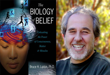 "Epigenetics specialist Bruce Lipton and his book ""The Biology of Belief"""