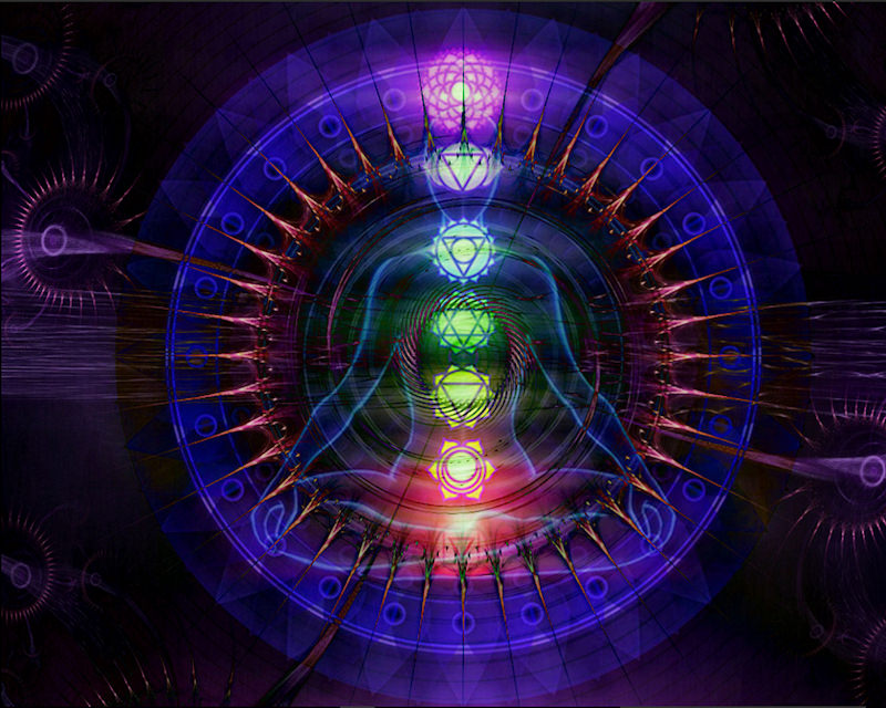 Violet Ray Auric Field Chakra Balancing and Tuning