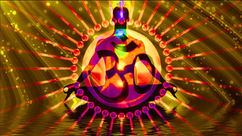 Golden Ray Energy Peace Man