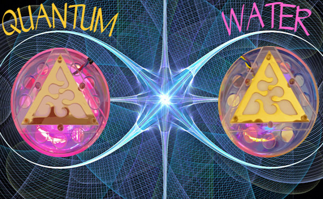 quantum wolf water of infinity connection of twin vortex living water technology