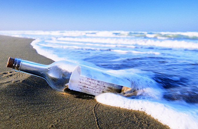 Message in a bottle represents Quantum WoLF Water structuring ability to hold memory and energetics as information medicine