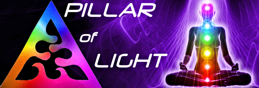 Pillar of Light Logo alignment for home page and store