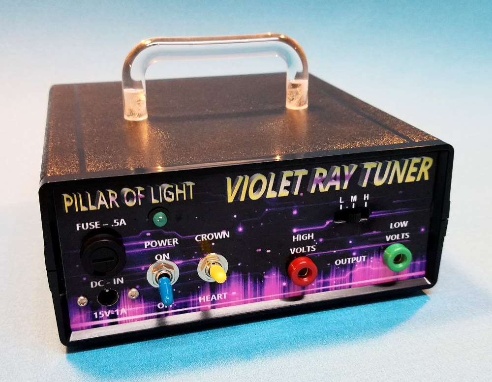 Violet Ray Tuner is our economy model for Chakra Balancing, bio-tuning, EM pollution protection and more