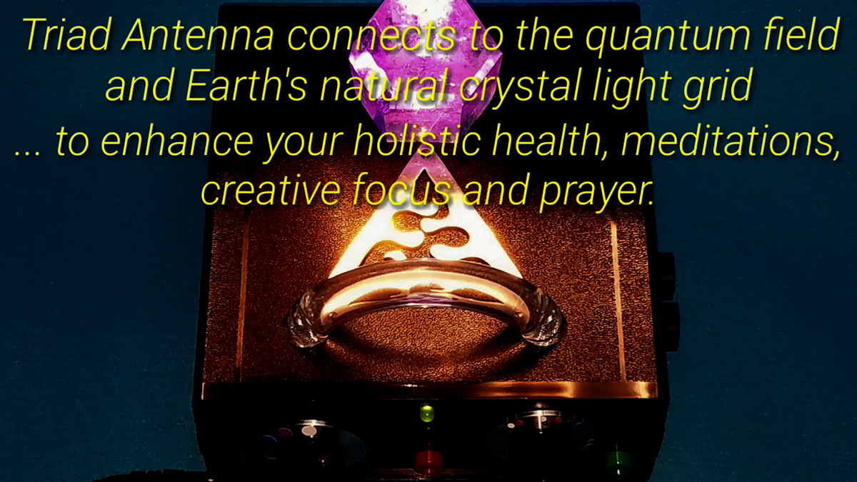 VRCR Earth Crystal Light Grid Connection