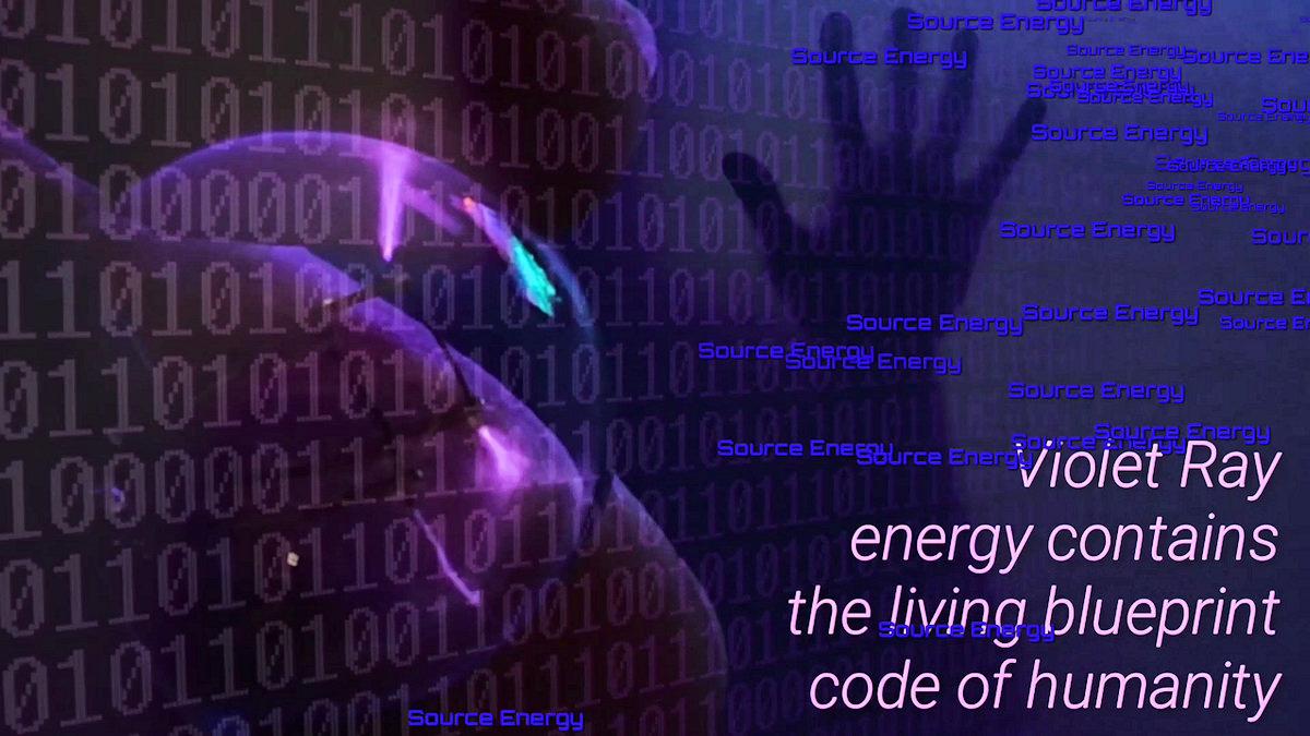 Violet Ray Energy Crystal Healing Wisdom