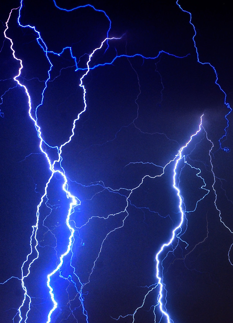 Lightening strikes is one process we use when emulating nature with our Quantum WoLF Water Structuring Device
