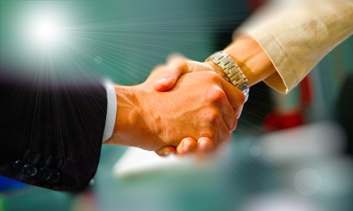 warranty handshake on deal