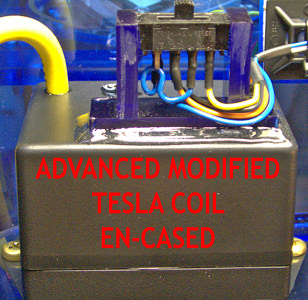 Violet Ray Tuner AMT Coil functions the same as this WoLF Coil for Chakra Balancing