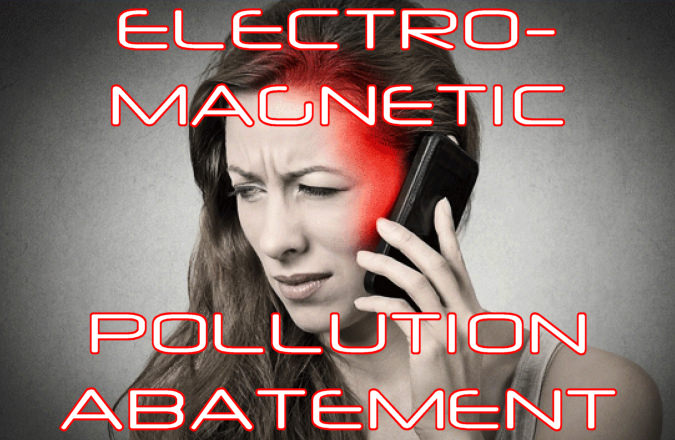 Stress Reduction by reducing Electromagnetic Pollution