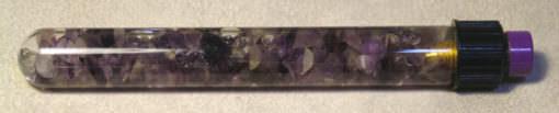Conductive Wand - Amethyst Crystal