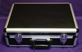 Violet Ray Case for easy transport