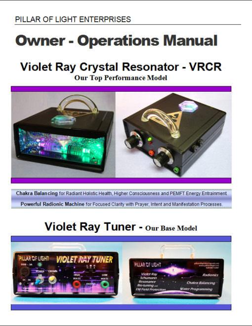 Violet Ray Manual